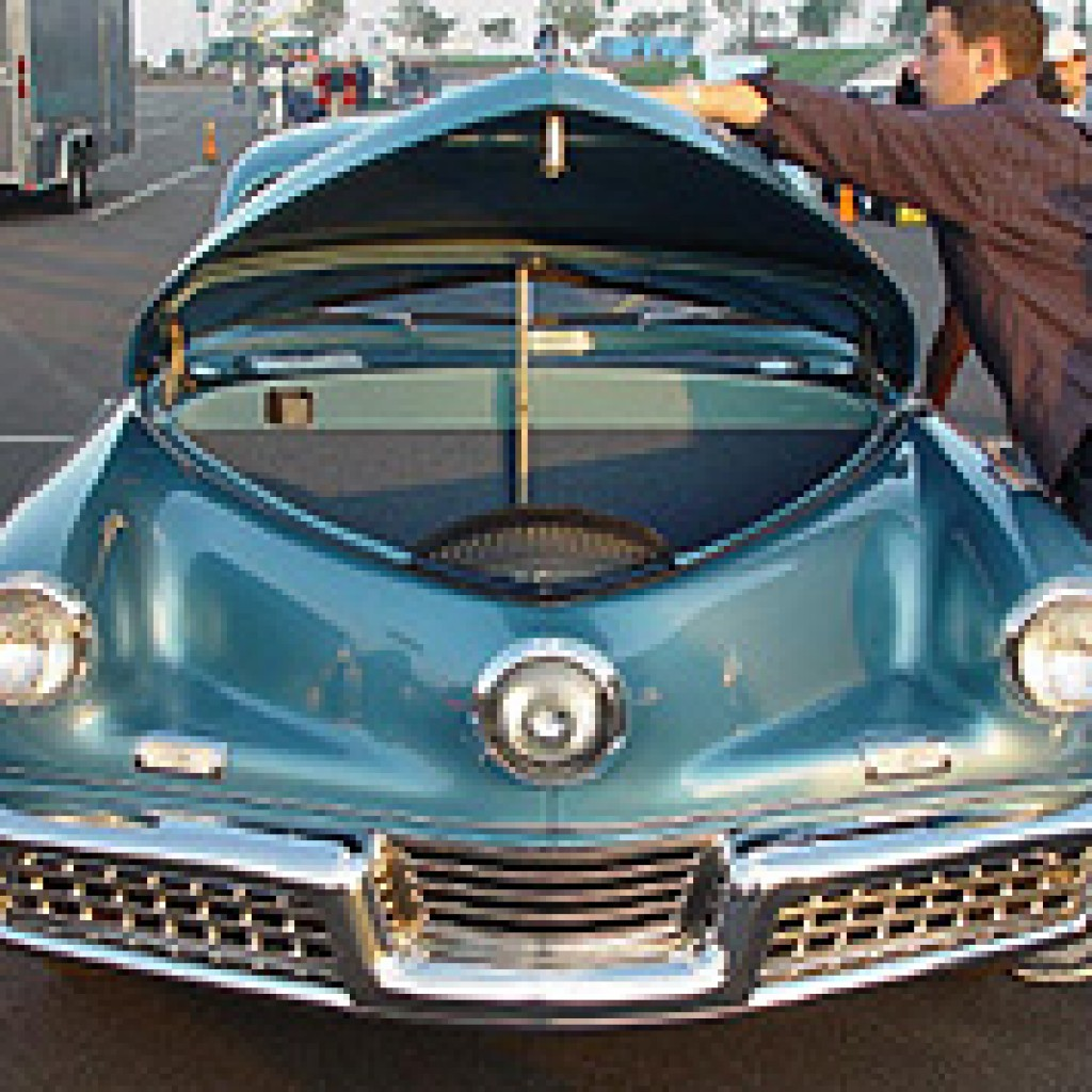 the tucker automobile Preston tucker, the man behind the tucker automobile, was a charismatic rebel  who was unfortunately possessed by his creativity and determined to do what.